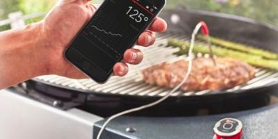 Barbeques & Grills Just Got Smarter: Meat the Weber® iGrill, German, Ohio