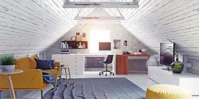 3 Alternative Uses for an Attic, Deep River, Connecticut