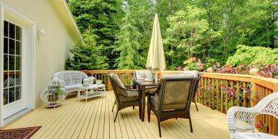 What Are the Differences Between Decks & Patios?, Lehigh, Pennsylvania