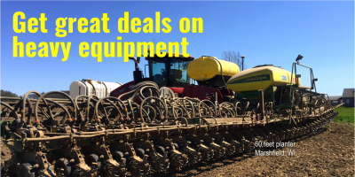 Heavy Equipment FOR SALE!, Viroqua, Wisconsin