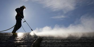 Why You Should Use a Hot Water Pressure Washer, Hooks, Texas