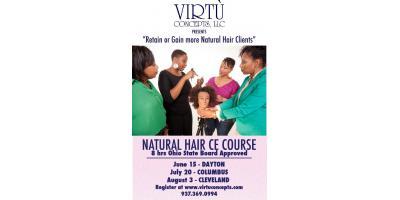 TEXTURED/NATURAL HAIR CE CLASS , Clayton, Ohio