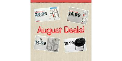 August Features of the Month Deals!, Bourbon, Missouri