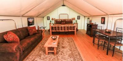 3 FAQ About Glamping, Whitefish, Montana