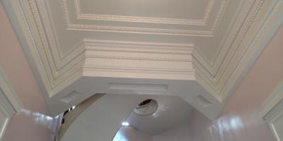 How Ornamental Plaster Is Preserved, Colerain, Ohio