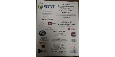 """Recovery In The Park """"Celebration"""", Hastings, Nebraska"""