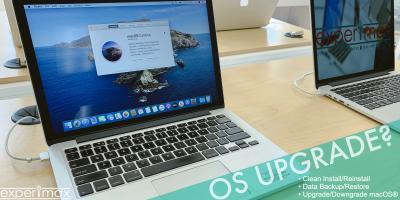 Upgrade or Downgrade macOS®, San Jose, California