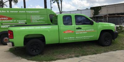 SERVPRO of Greater St. Augustine is faster to any size disaster!, St. Augustine, Florida