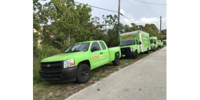 A day in the life of the St Augustine SERVPRO., St. Augustine, Florida