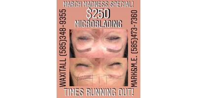 Microblading Deal Almost Over! SAVE $100, Rochester, New York