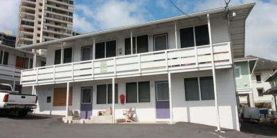 2 bd, 1 bath, 1 parking apt. in Makiki- New flooring & paint, Honolulu, Hawaii