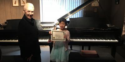 Angela's Piano Graduation Recital Recap, Clarksville, Maryland