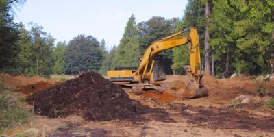 3 Land Clearing Methods Explained, Sunman, Indiana