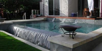 Remodeling Specialist Discusses Infinity Pools, Honolulu, Hawaii
