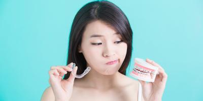 Invisalign® Vs. Braces: Orthodontists Explain the Difference, Potomac, Maryland