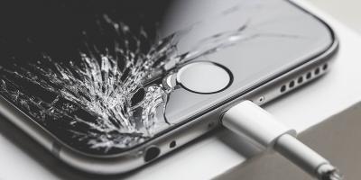 Cracked iPhone® Screen Repair at Experimac Aurora, Aurora, Colorado