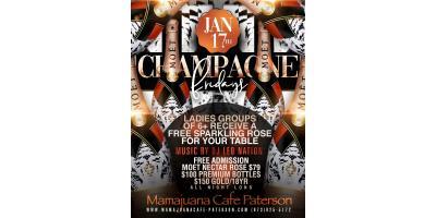 CHAMPAGNE FRIDAYS- JAN 17- MAMAJUANA CAFE PATERSON , Paterson, New Jersey