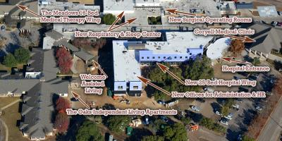 CMHS Expansion & Renovation Construction Update, Gatesville, Texas