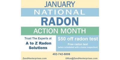 Don't Miss It!! Radon Test @ 1/2 price , Lincoln, Nebraska