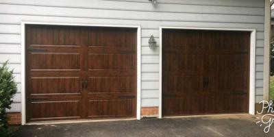 4 Steps to Repainting a Garage Door, Jessup, Maryland