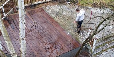 Why Fall Is the Best Time for Deck Cleaning, Milford city, Connecticut