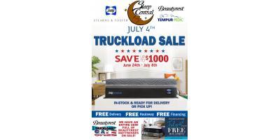 Truckload Mattress Sale!  Sealy, Beautyrest, Stearns & Foster & TempurPedic!  , Minocqua, Wisconsin