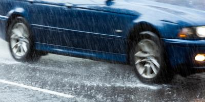 How to Stay Safe When Driving in Heavy Rain, Kalispell, Montana