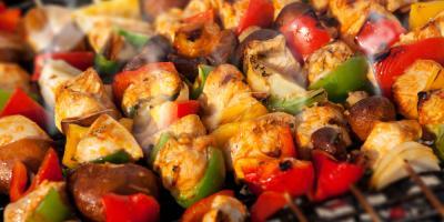 5 Types of Kebab Served at Afghan Kebab House II, New York, New York