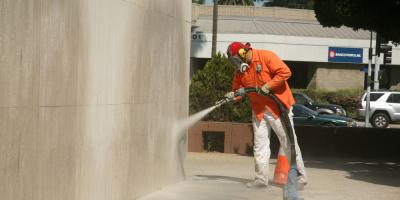 How Soda Blasting Eliminates Mold, Nicholasville, Kentucky