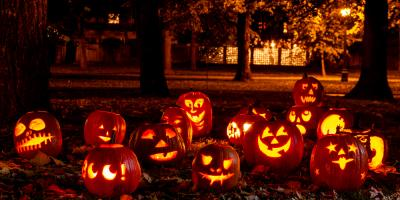 A Retirement Home Offers a Halloween Event for Residents & Families, Ville Platte, Louisiana