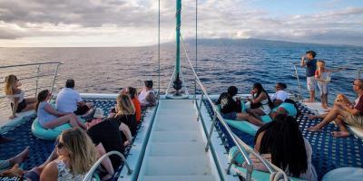 Try Sea Maui's New Premium Sunset Dinner Cruise, Lahaina, Hawaii