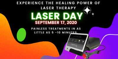 EXPERIENCE THE HEALING POWER OF LASER THERAPY, Lincoln, Nebraska