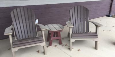 """Clearance Sale on """"in Stock"""" Poly Outdoor Lawn Furniture, Byron, Wisconsin"""