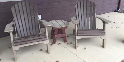 Poly Outdoor Lawn Furniture Clearance Sale Update, Byron, Wisconsin