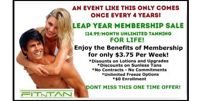 Get Naked, Bronzed, and Beautiful for LESS THAN EVER! , Creve Coeur, Missouri