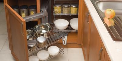 3 Tricks to Make Space in Cluttered Cabinets, Cincinnati, Ohio