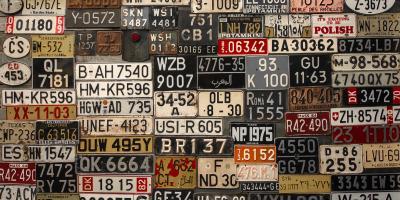 A Brief History of License Plates, 10, Louisiana