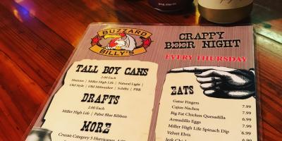 Enjoy Crappy Beer & Trivia Every Week at Buzzard Billys!, Lincoln, Nebraska