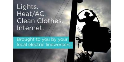 Spread the Word. Got Power?, Hernandez, New Mexico