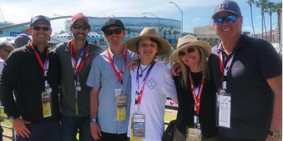 Seeman Holtz, Proud Partner of Rahal Letterman Lanigan Racing, Attends the 2019 Acura Grand  Prix of Long Beach, CA, Houston, Texas