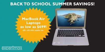 Back To School Savings - MacBook Air Laptops As Low As $699!, ,