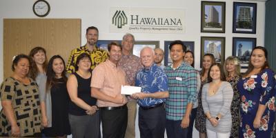Hawaiiana's Employee Generosity makes impact on Local Charities, Honolulu, Hawaii
