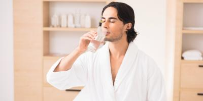 Why You Should Drink Water After a Massage, Hackensack, New Jersey