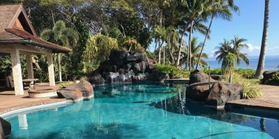 Saltwater vs. Chlorine Pools, Kihei, Hawaii