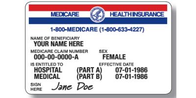 New Medicare Cards, High Point, North Carolina