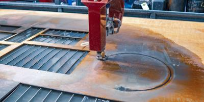 3 Advantages of Water Jet Metal Processing, Sharonville, Ohio