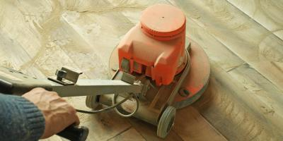 Why You Should Choose On-Site Sanding When Installing New Hardwood Flooring, Milford, Connecticut