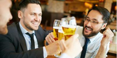 How Does Happy Hour Promote Team Building in Co-Workers?, Milford, Connecticut