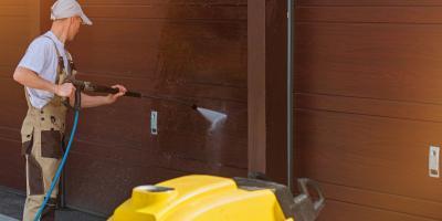 How to Clean Your Vinyl Residential Garage Door, Milford, Connecticut
