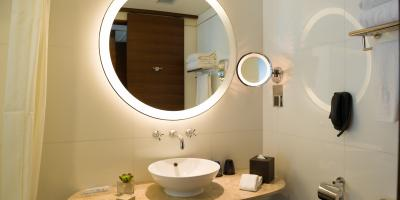 3 Reasons to Get a Backlit Bathroom Mirror, Raleigh, North Carolina